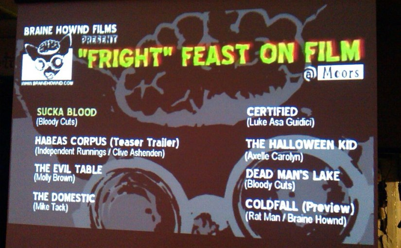 The Horror, The Horror: Fright Feast OnFilm