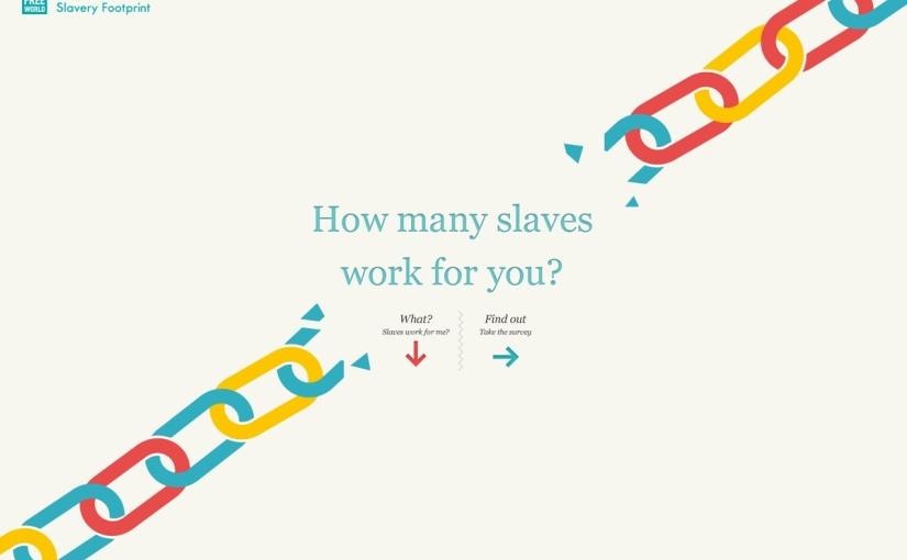 How many slaves work foryou?