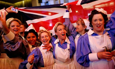 NHS performers at the Olympic opening ceremony