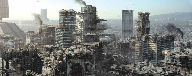 Favela Future: Dredd, Elysium and the ruins of the 21stcentury