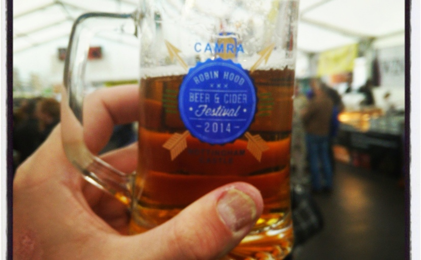 The Robin Hood Beer Festival: On Target For Food!