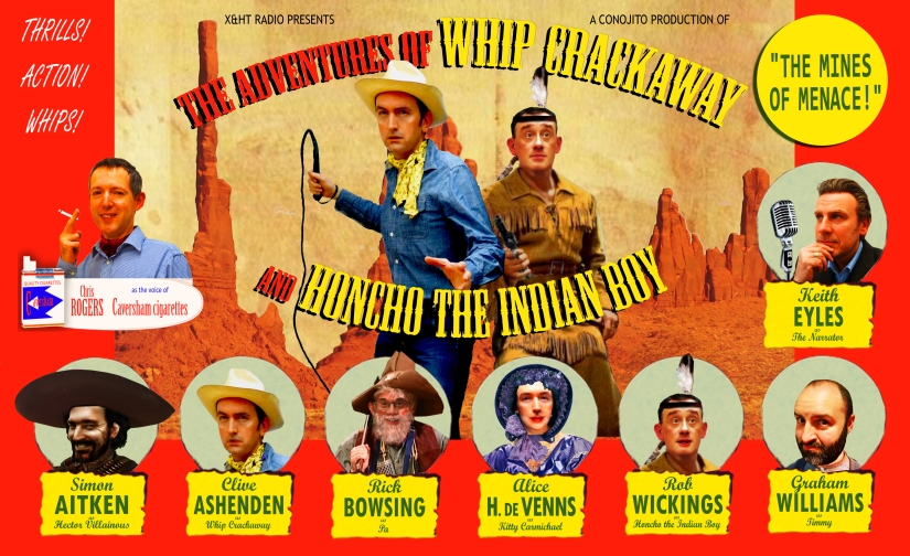 The Adventures Of Whip Crackaway And Honcho The Indian Boy