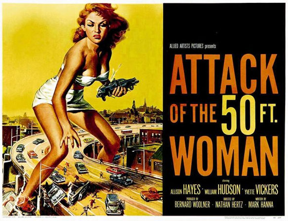 The A TO Z Of SFF: A Is For Attack Of The 50 FtWoman