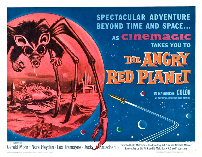The A To Z Of SFF: A Is For Angry RedPlanet