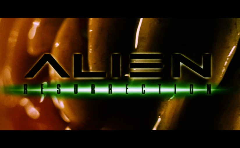 The A To Z Of SFF: A Is For AlienResurrection